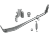 Drag Specialties Complete Kickstand Kit, Chrome
