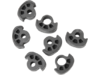 Drag Specialties Replacement Soft-ride Rubbers, Small Peg
