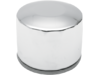 Drag Specialties Spin-On Oil Filter, Chrome
