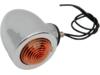 Drag Specialties Dual Filament Bullet Marker Light, Amber