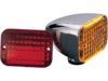 Drag Specialties Rectangular Marker Light w/ Dual Filament Bulb