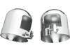Drag Specialties Chrome Shock Top Caps