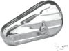 Drag Specialties Left Teardrop Toolbox, Chrome