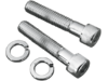 "Drag Specialties 1/2""-13 x 2 3/4"" Allen-Head Bolts, Chrome"