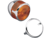 Drag Specialties Turn Signal Lens Trim Rings, Chrome
