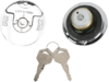 Drag Specialties Flush-Mount Locking Gas Cap Set