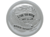 "Drag Specialties ""Live To Ride"" Vented Gas Cap, Chrome"
