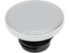 Drag Specialties Screw-In Without Vent Gas Cap, Chrome