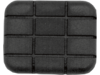 Drag Specialties Replacement Rubber Pad, Black