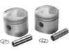 "Drag Specialties Standard 3.498"" Bore, 8:1 Compression Pistons"