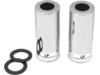 "Progressive Suspension Shock Cover Kit 12"" Chrome"