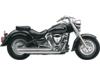 Cobra Speedster Chrome Slash-Down Exhaust with PowerPort
