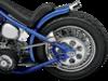 "Drag Specialties 60 Spoke 16"" X 3.5"" Rear Laced Wheel Assembly, Chrome"