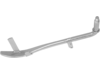 "Drag Specialties Chrome Steel Kickstand, 10"" L"
