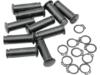 Drag Specialties Pivot Pin/Clip Kit, Black