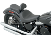 Drag Specialties Smooth Solo Front Seat, Black