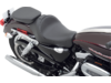 Drag Specialties Wide Smooth Rear Seat, Black