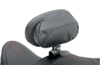 """Drag Specialties """"The Convertible"""" EZ Glide I Backrest with Rain Cover, Black"""
