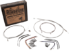 "Burly Brand Extended Cable/Brake Line Kit for 14"" Ape Hanger Bar"