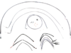 """Burly Brand Extended Cable/Brake Line Kit for 16"""" Ape Hanger Handlebar"""