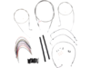 "Burly Brand Extended Cable/Brake Line Kit for 16"" Ape Hanger Handlebar"