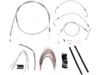 Burly Brand Extended Cable/Brake Line Kit for 16in. Ape Hanger Bar