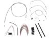 Burly Brand Extended Cable/Brake Line Kit for 18in. Ape Hanger Bar