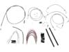 Burly Brand Extended Cable/Brake Line Kit for 14in. Ape Hanger Bar