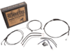 Burly Brand Extended Cable/Brake Line Kit for 14in. Ape Hanger Bar
