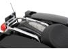 Drag Specialties Rear Fender Skin, White Faux Python