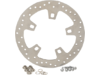 "Drag Specialties 11.8"" Stainless Steel Drilled Front Brake Rotor"
