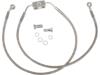 "Drag Specialties +4"" Extended Front Brake Line Kit"