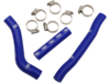 Moose Blue Silicone Radiator Hose Kit