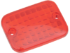 Drag Specialties Replacement Red Lens for Rectangular Marker Light