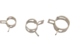 Drag Specialties Spring Clamps, Chrome
