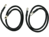"""Drag Specialties 33"""" Battery Cable Kit, Black"""