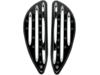 Arlen Ness Deep Cut Driver Floorboards, Driver - Black
